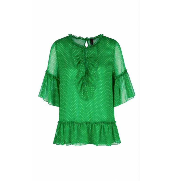 Marc Cain Marc Cain Green Blouse LC5123
