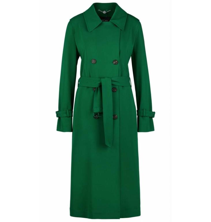 Marc Cain Collections Marc Cain Collections Green Trench Coat LC1103