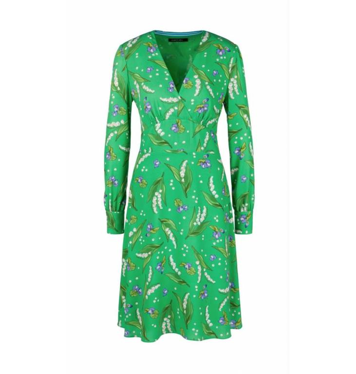 Marc Cain Marc Cain Green Dress LC2127