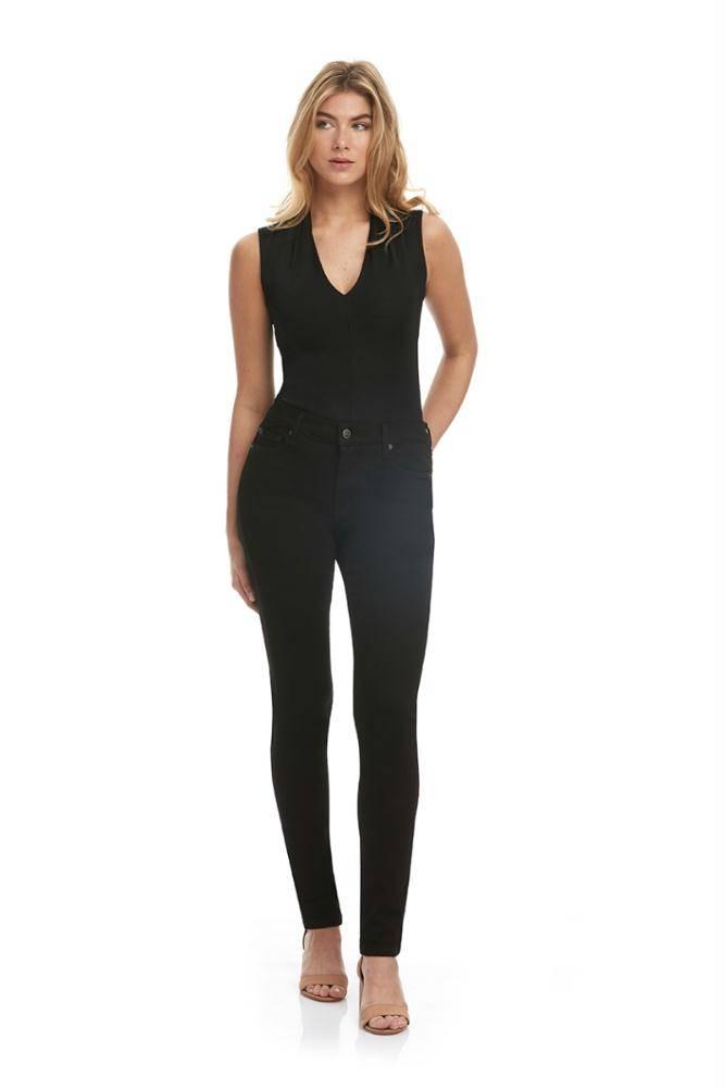 Yoga Jeans Black Denim Skinny Jeans R32/1745.EU