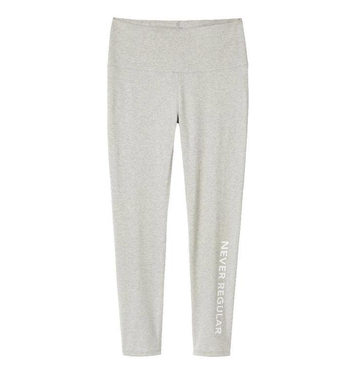 10Days 10Days Light Grey Melee Yoga Legging Long 21.026.9900