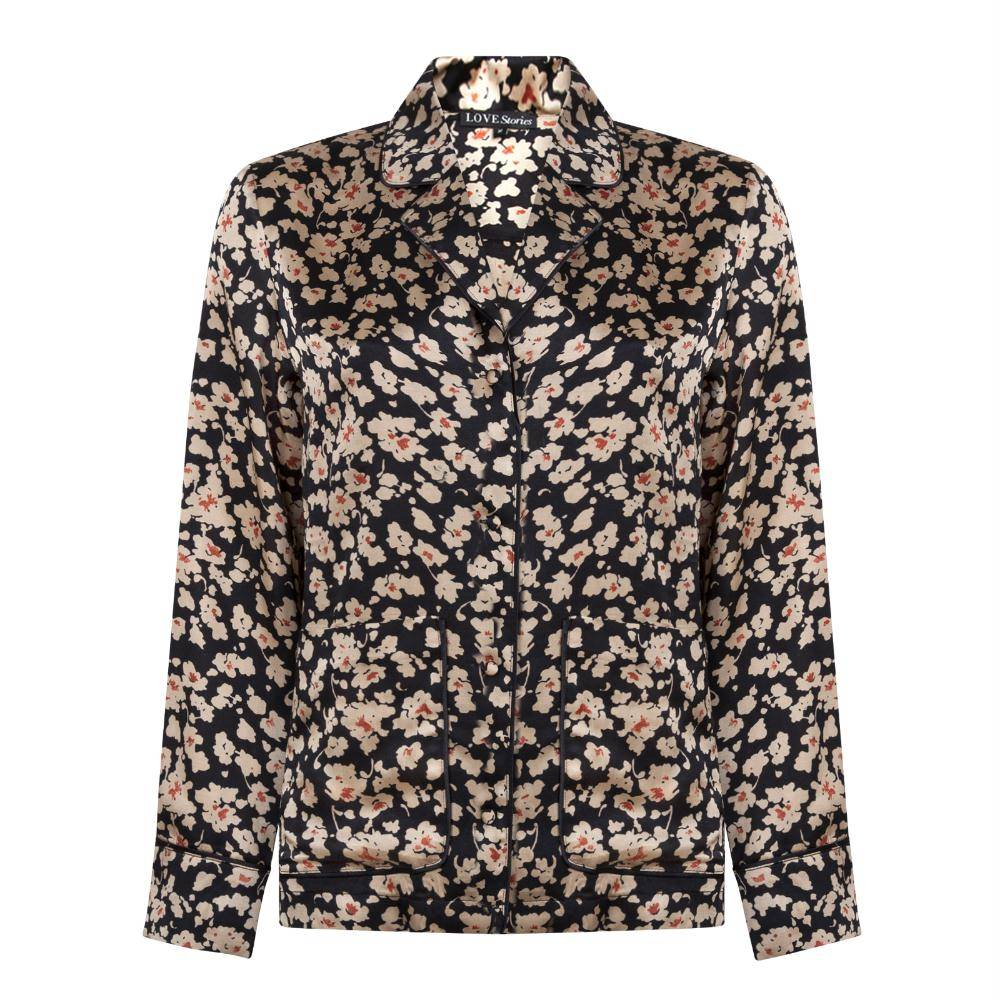Love Stories Floral Bluemoon Pyjama Top L873155812