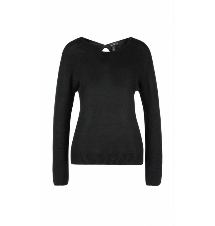 Marc Cain Collections Marc Cain Collections Black Top LC4127