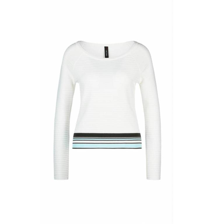Marc Cain Collections Marc Cain Collections White Sweater LC4128
