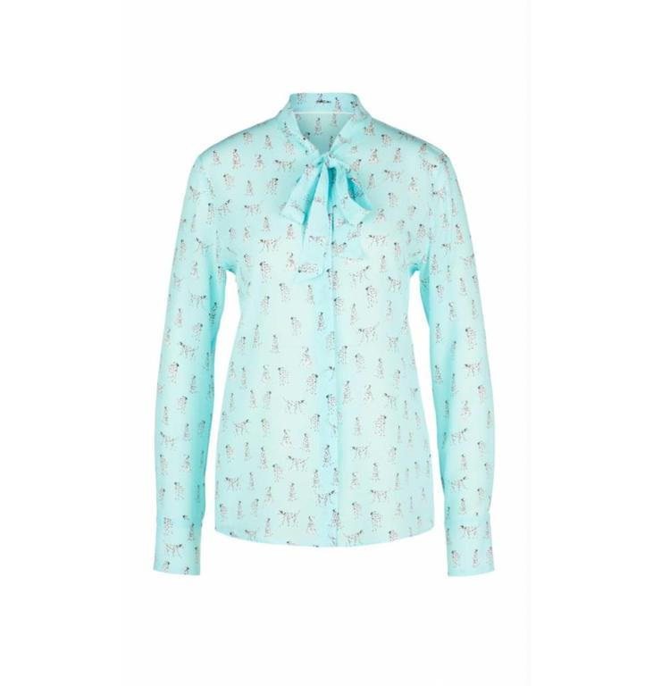 Marc Cain Collections Marc Cain Collections Blue Blouse LC5114