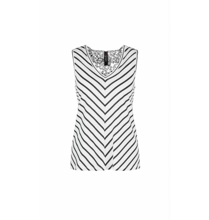 Marc Cain Collections Marc Cain Collections Striped Top LC6114