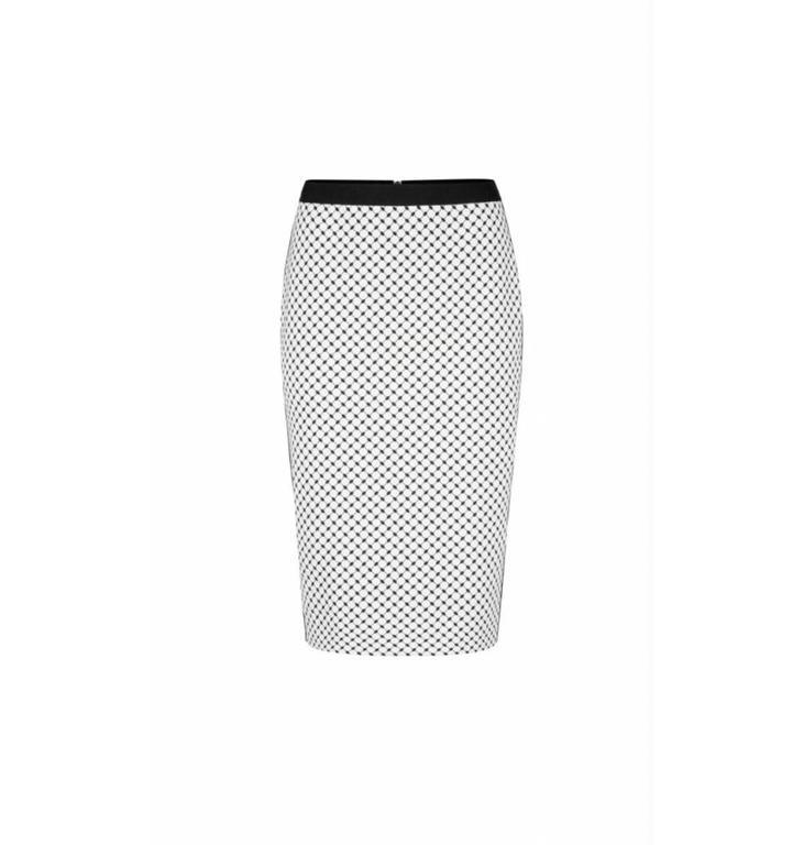 Marc Cain Marc Cain Black/White Skirt LC7147