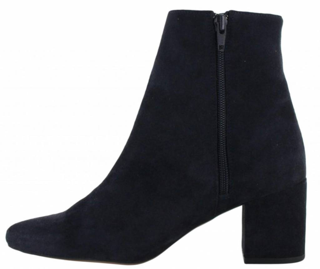 Tango Shoes Navy Ankle Boot Ella Block 1