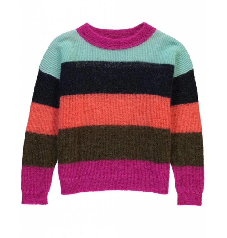 Essentiel Antwerp Essentiel Antwerp Striped Knitted Sweater Savana