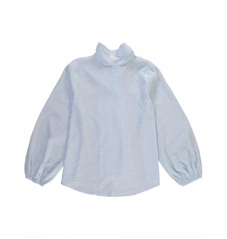 Essentiel Antwerp Essentiel Antwerp Blue Blouse Santana