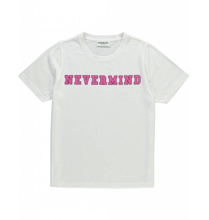 Essentiel Antwerp Essentiel Antwerp White T-shirt Sandominga