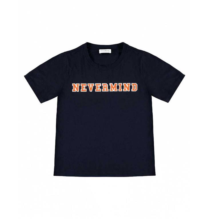 Essentiel Antwerp Essentiel Antwerp Navy T-shirt Sandominga