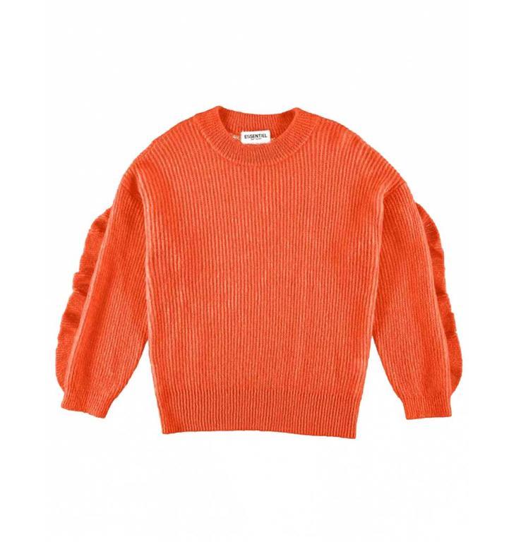 Essentiel Antwerp Essentiel Antwerp Orange Knitted Sweater Shanghai