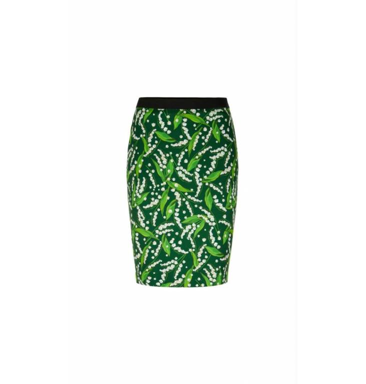 Marc Cain Marc Cain Green Skirt LC7143