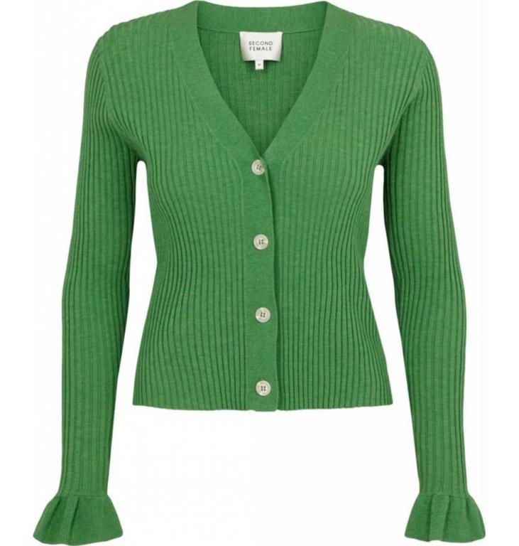 Second Female Second Female Green Knit Cardigan Mariella
