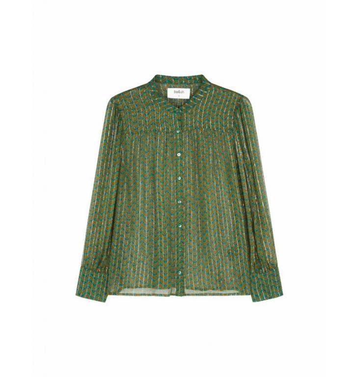 Ba&sh Ba&sh Green Blouse Wize