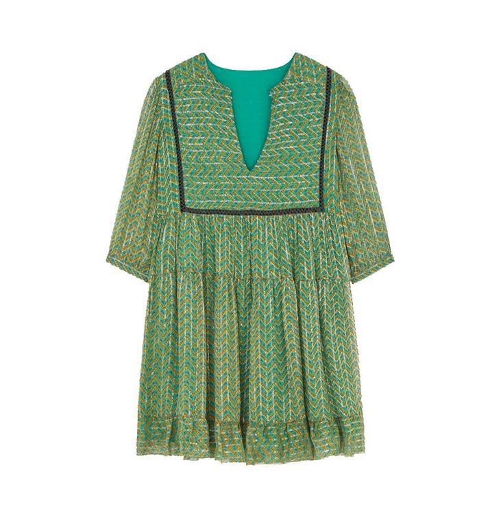 Ba&sh Ba&sh Green Dress Willow