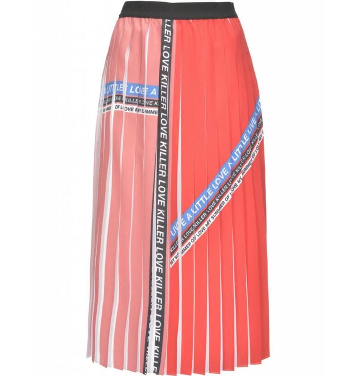 Pinko Pinko Red Skirt Adorabile
