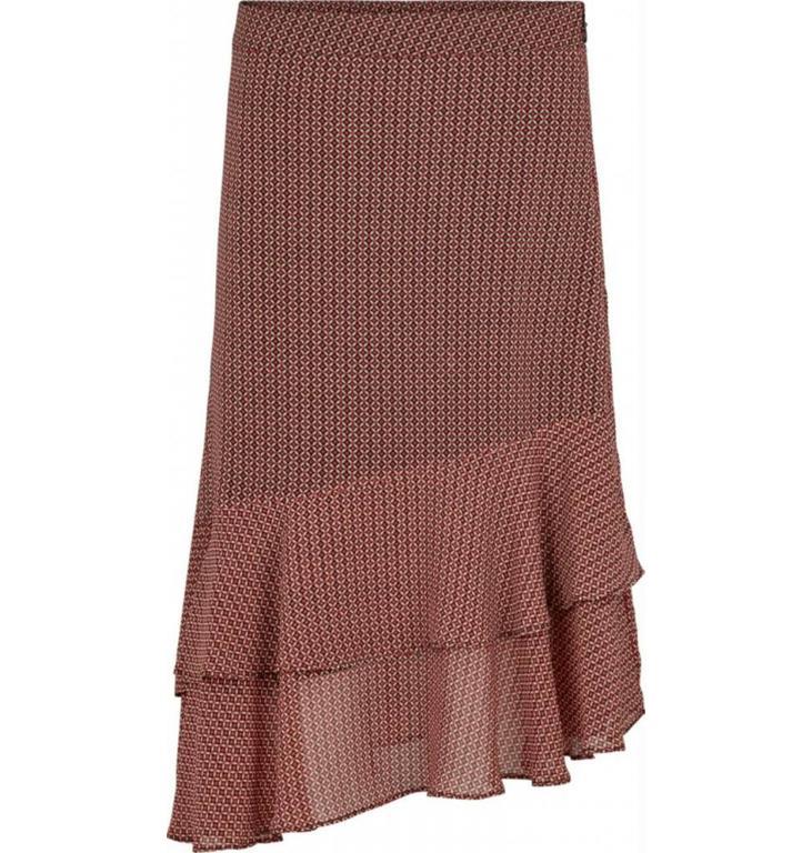 Second Female Second Female Bordeaux Skirt Leen