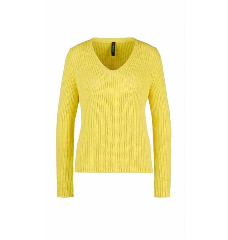 Marc Cain Marc Cain Yellow Sweater LS4107