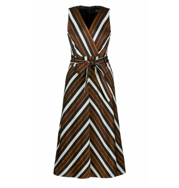 Marc Cain Marc Cain Striped Dress LC2132