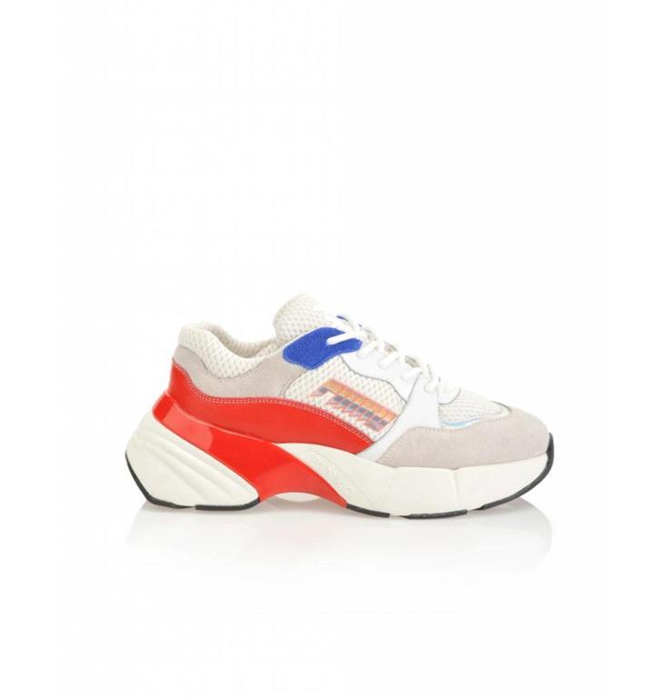Pinko Pinko Soft White/Red Sneaker Zaffiro