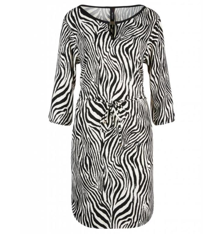 Marc Cain Marc Cain Zebra Print Dress LC2120