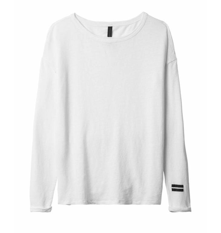 10Days 10Days White Essentials Longsleeve Tee 20.782.9900
