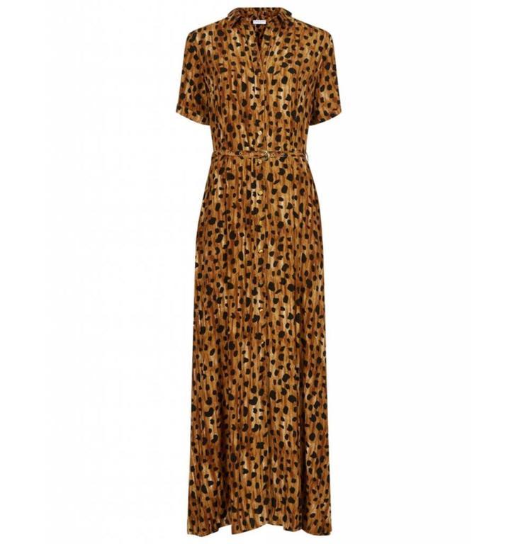 Fabienne Chapot Fabienne Chapot Leopard Long Dress Mia