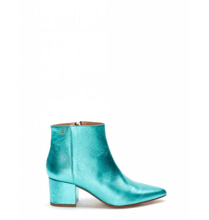 Fabienne Chapot Fabienne Chapot Blue Metallic Boot Toni