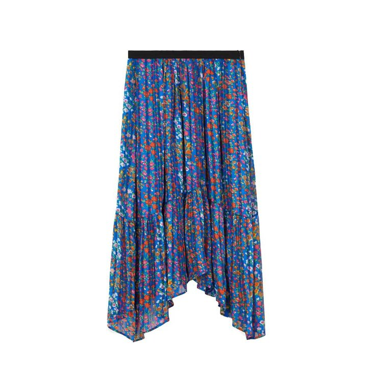 Ba&sh Ba&sh Blue Skirt Romeo