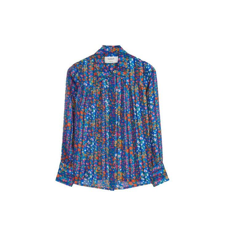 Ba&sh Ba&sh Blue Blouse Rive