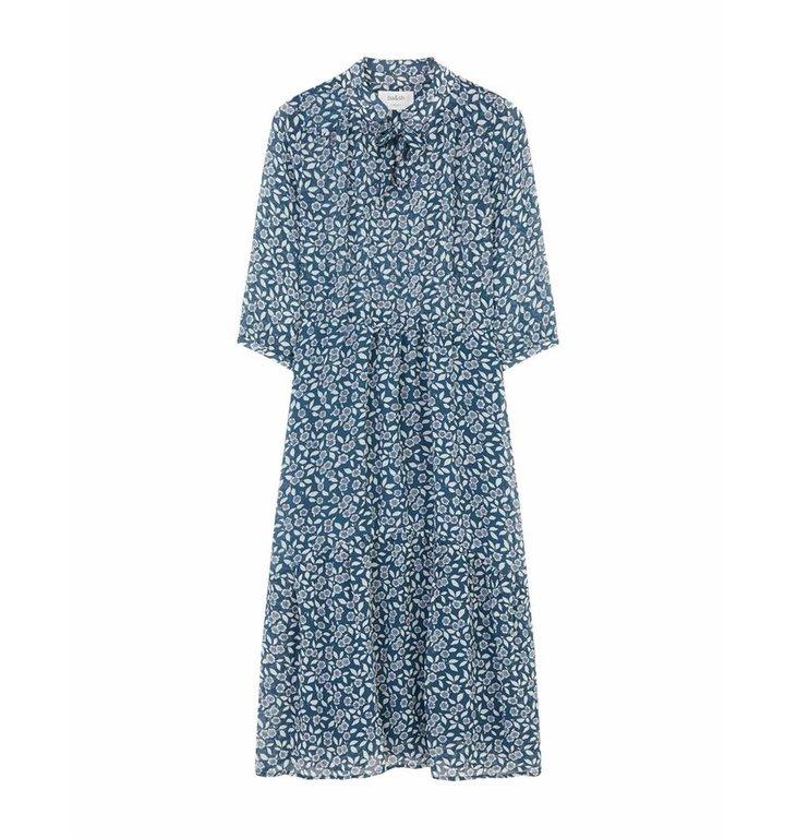 Ba&sh Ba&sh Blue Dress Bonnie