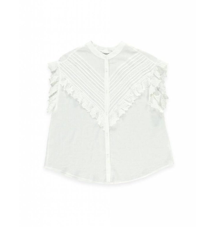 Essentiel Antwerp Essentiel Antwerp White Blouse Sloeber