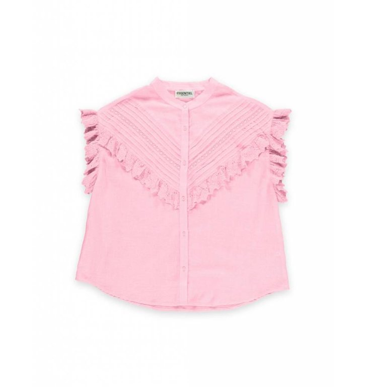 Essentiel Antwerp Essentiel Antwerp Soft Pink Blouse Sloeber