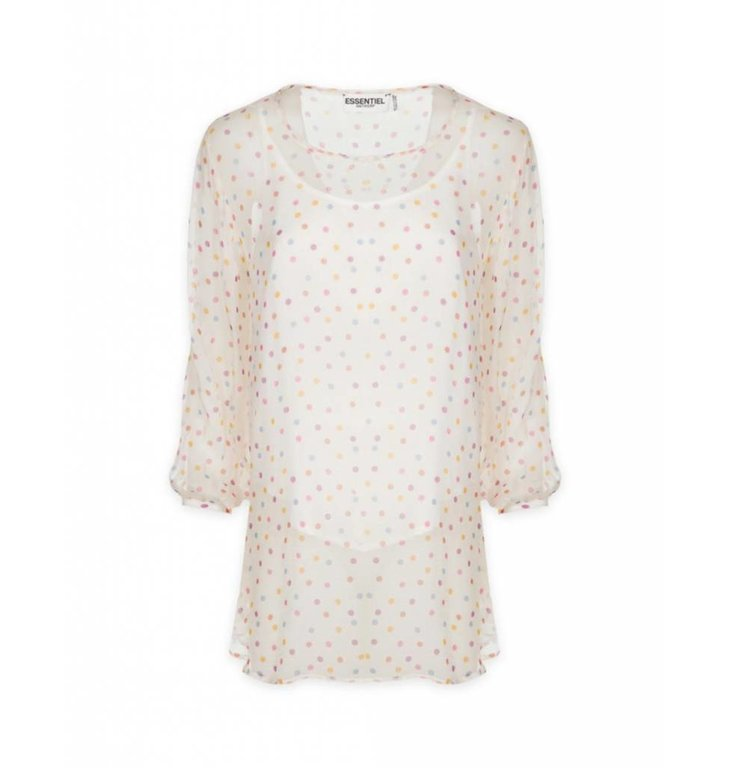 Essentiel Antwerp Essentiel Antwerp Ecru Blouse Shanaynay