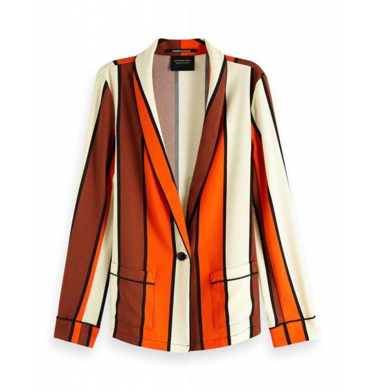 Maison Scotch Maison Scotch Striped Blazer 150031