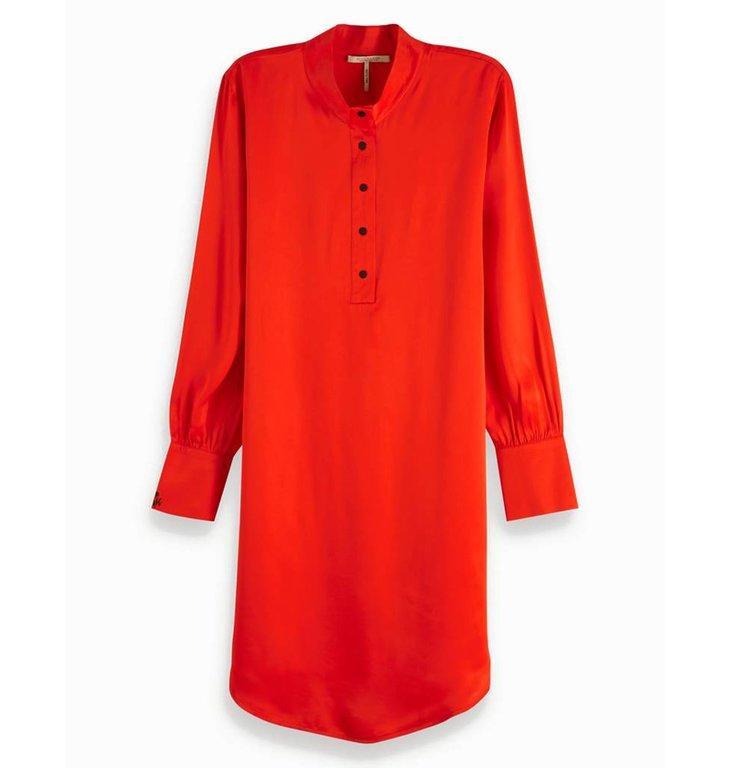 Maison Scotch Maison Scotch Red Shirt Dress 149849