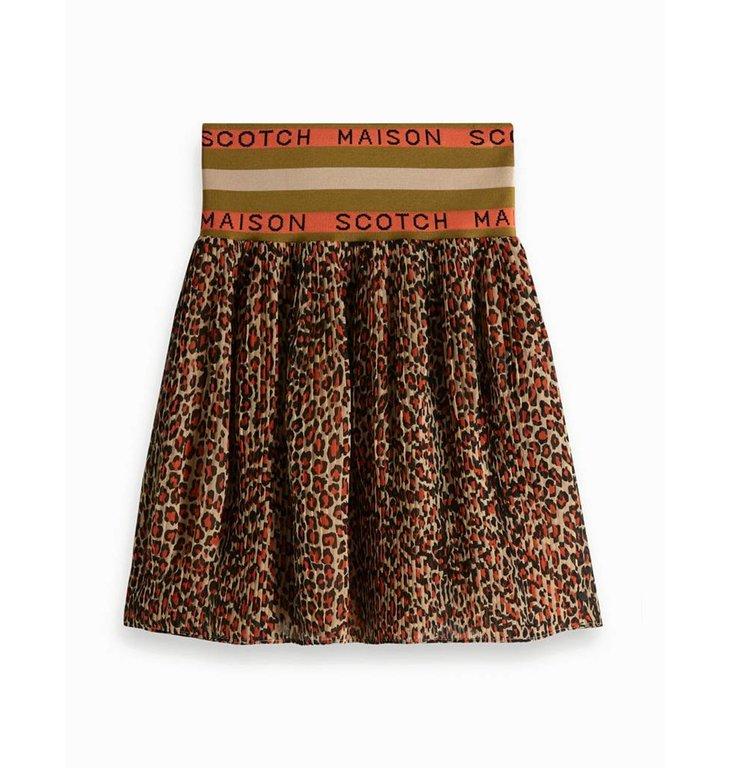 Maison Scotch Maison Scotch Leopard Skirt 149918