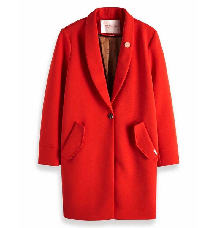 Maison Scotch Maison Scotch Red Tailored Jacket 149989