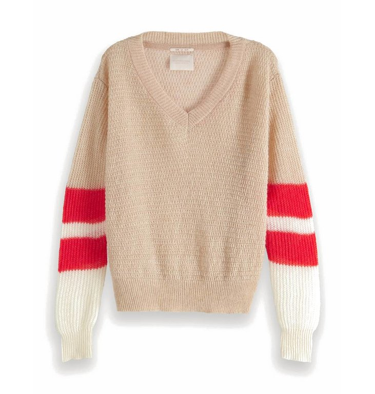 Maison Scotch Maison Scotch Beige Knit 150238