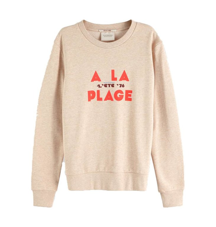 Maison Scotch Maison Scotch Beige Sweater 150411
