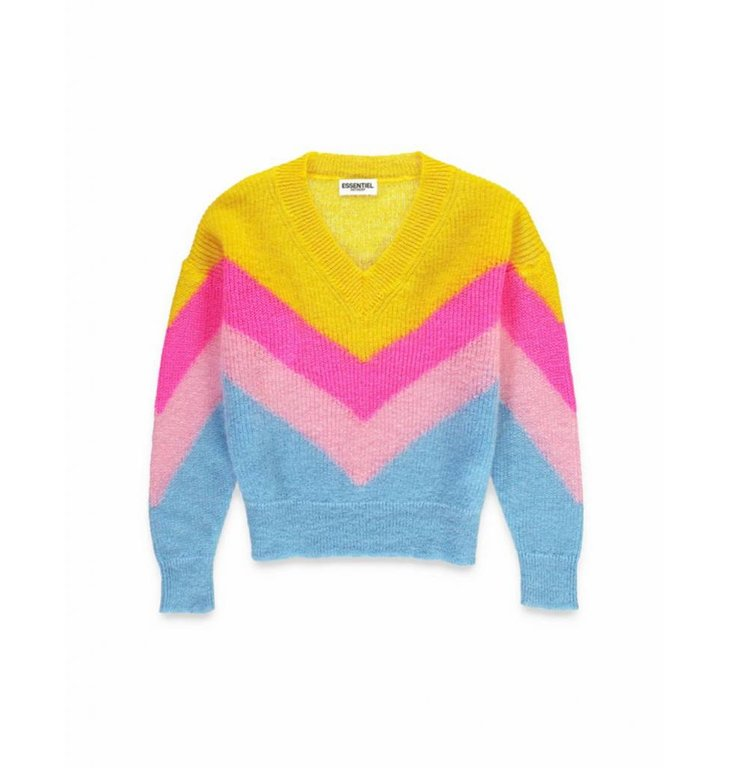 Essentiel Antwerp Essentiel Antwerp Multicolour Knit Saipan