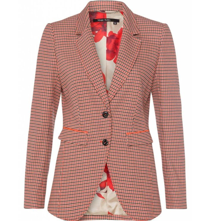 Marc Aurel Marc Aurel Plaid Blazer 3545