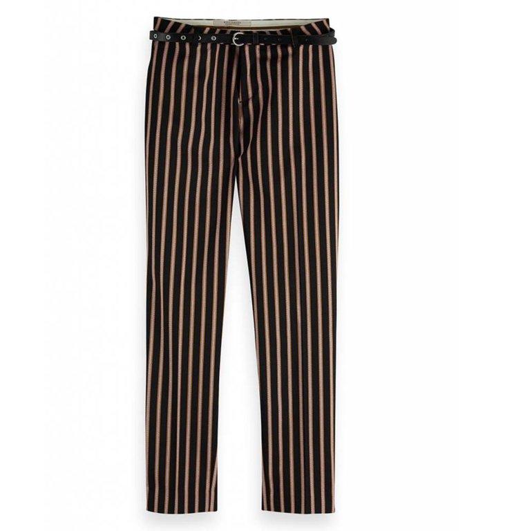 Maison Scotch Maison Scotch Black Striped Pants 149899