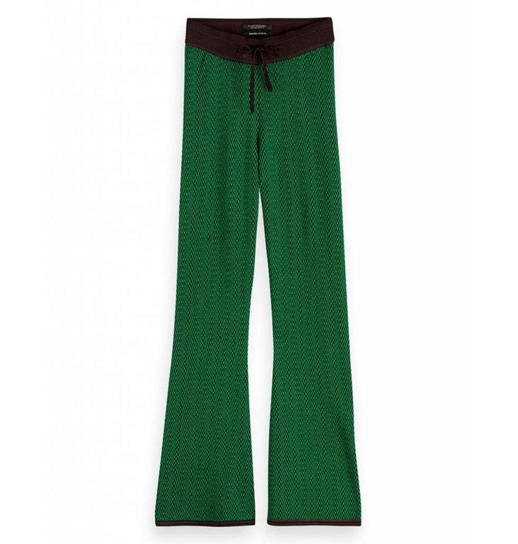 Maison Scotch Maison Scotch Green Knitted Flair 150761