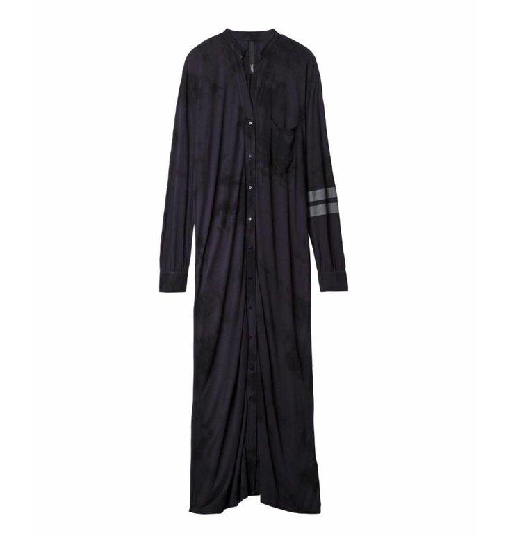 10Days 10Days Navy Long Shirt Dress Tie Dye 20.403.9101