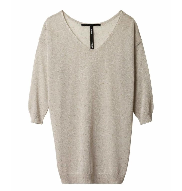 10Days 10Days Ecru V-Neck Sweater 20.601.9101