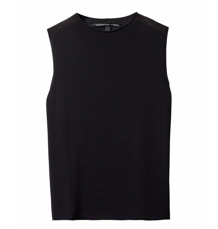 10Days 10Days Black Sleeveless Sweater 20.622.9101