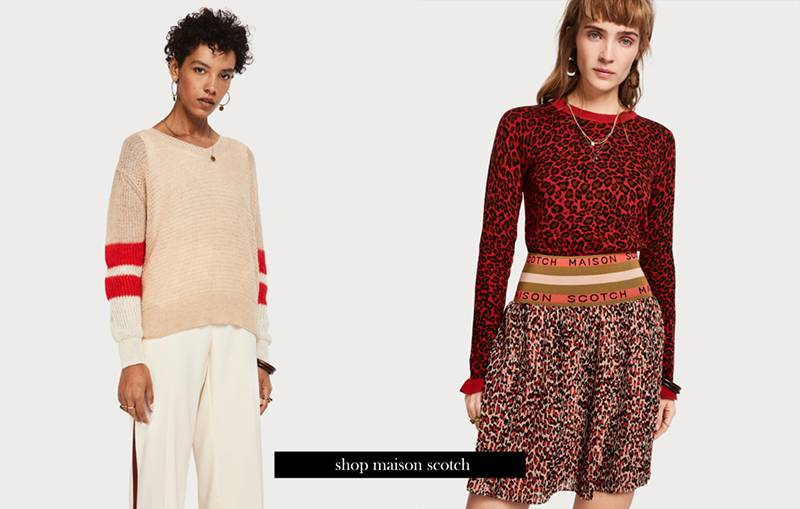 New in! Maison Scotch, Essentiel Antwerp en 10Days!
